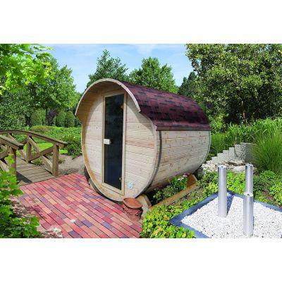 Sauna extérieur Baril - Karibu