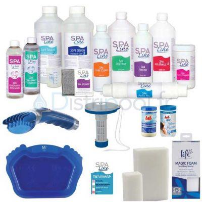 Pack complet Spa-Line pour traitement pour spa - HTH