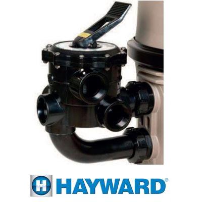 Vanne multivoies 2' diatomées Progrid - HAYWARD