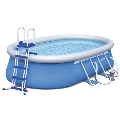Piscine autoportante Bestway Fast Set Pools ovale 549 x 366 x 122cm