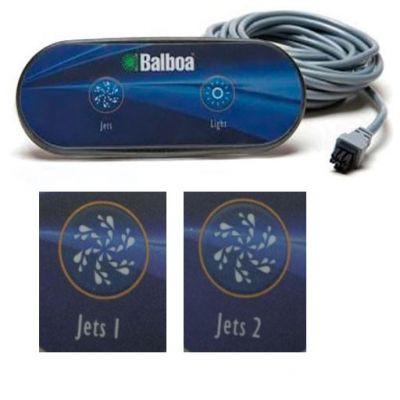 Clavier de commande auxiliaire Balboa AX20 (Jets1 et Jets2) - Balboa