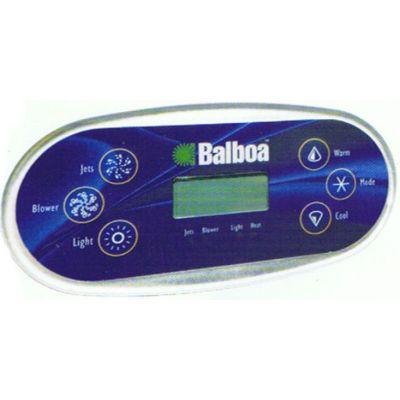 Clavier de commande Balboa VL600S, 2 pompes sans air - Balboa