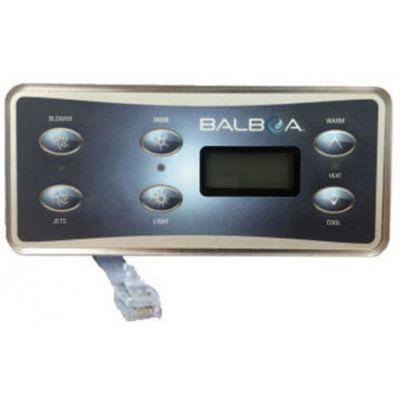 Clavier de commande Balboa VL701S, 1 pompe + air V1 - Balboa