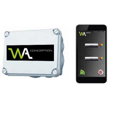Télécommande Wifi pour piloter pompe + projecteurs