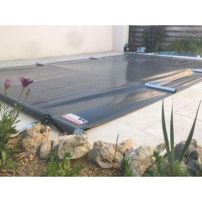 bâche à barres piscine Aquaprotect sur mesure