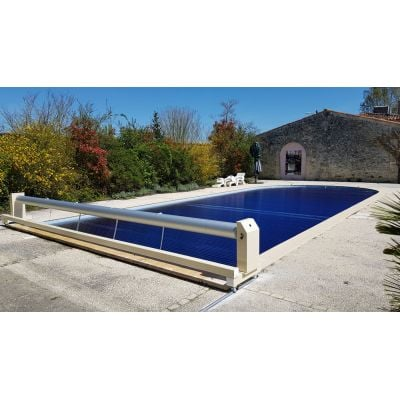 Volet automatique piscine Mouv and Roll