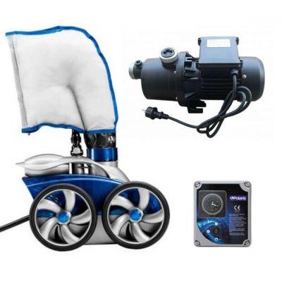 PACK Premium : Robot 3900 S + Surpresseur 1.5 CV + Coffret - Polaris