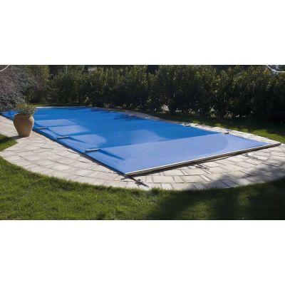 Bâche à barres piscine Tramontane sur mesure