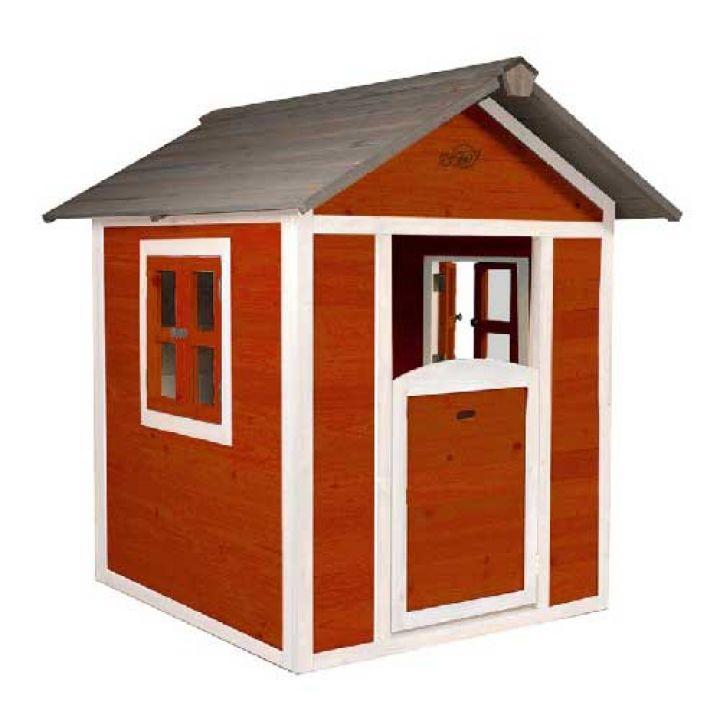 Cabane pour enfant Lodge rouge - Distripool - Sunny