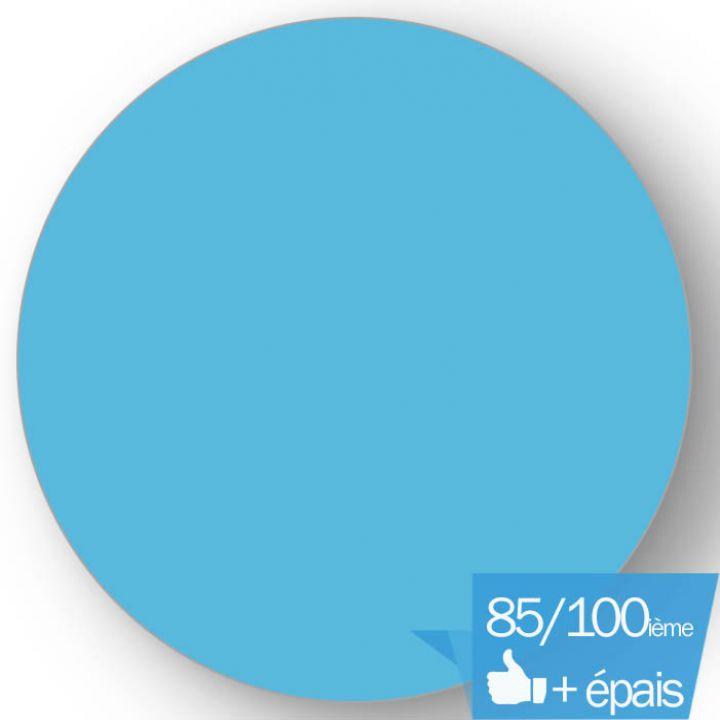 Liner piscine 85/100ème bleu France
