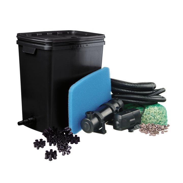 Kit filtration complet pour bassin FiltraPure 4000  - Distripool - Ubbink