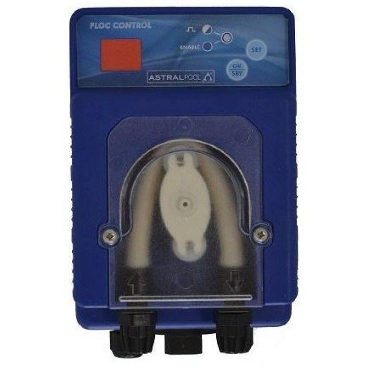 Pompe doseuse Floc Control : pour le floculant et l'algicide