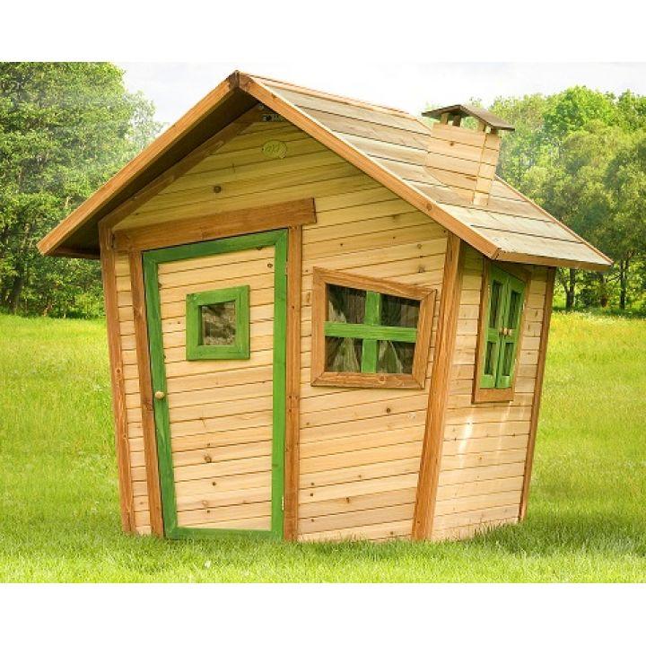 Cabane pour enfant en bois ALICE - Distripool - Axi