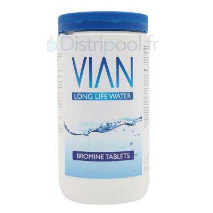 Produit spa : Pastilles de Brome VIAN 1kg - Distripool - Vian