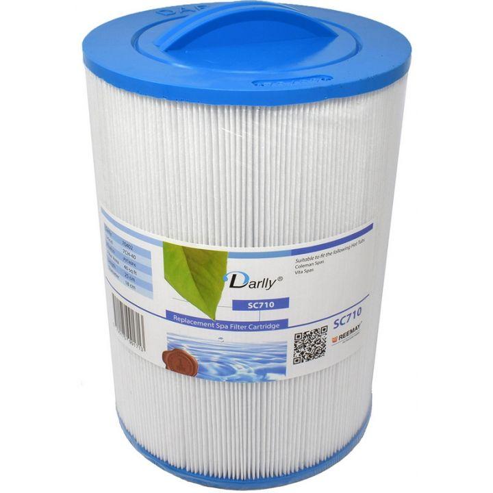 Filtre à cartouche Darlly SC710- 70402- 7CH-40-PVT40P4 - Distripool