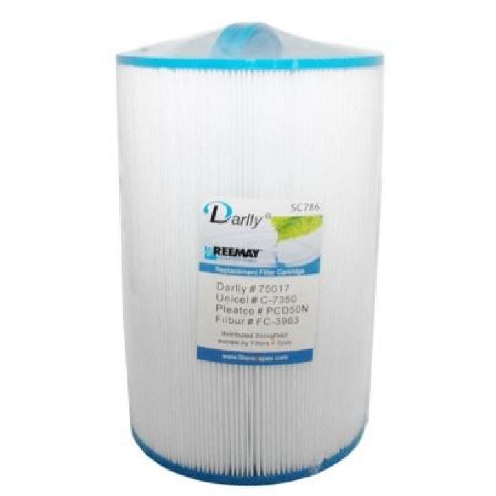 Filtre à cartouche Darlly SC786 - 70511- C-7350 - PCD50N - Distripool