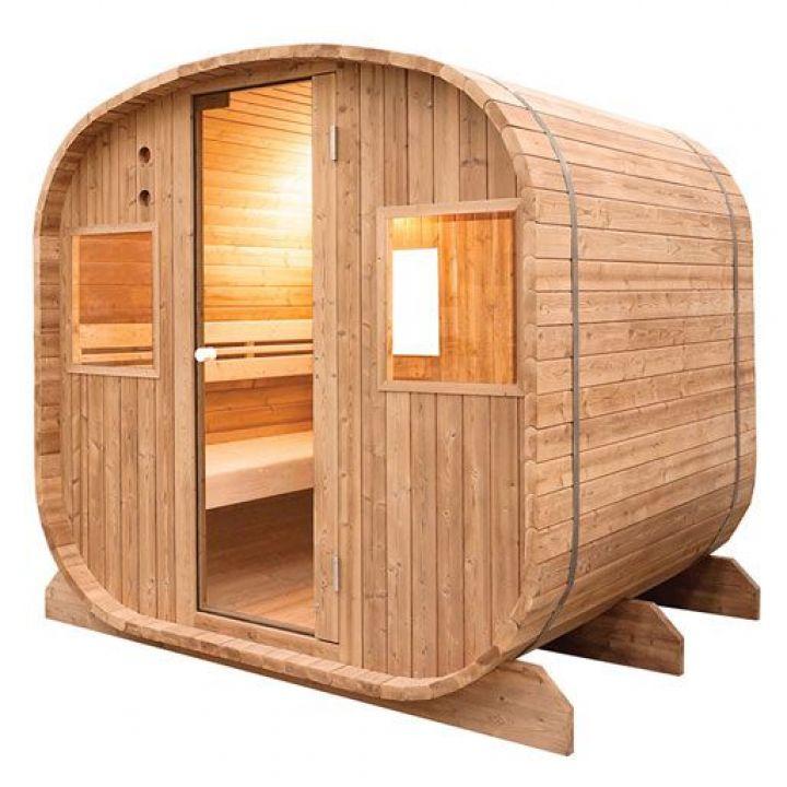 Sauna d'extérieur Barrel - Vapeur  - Holl's