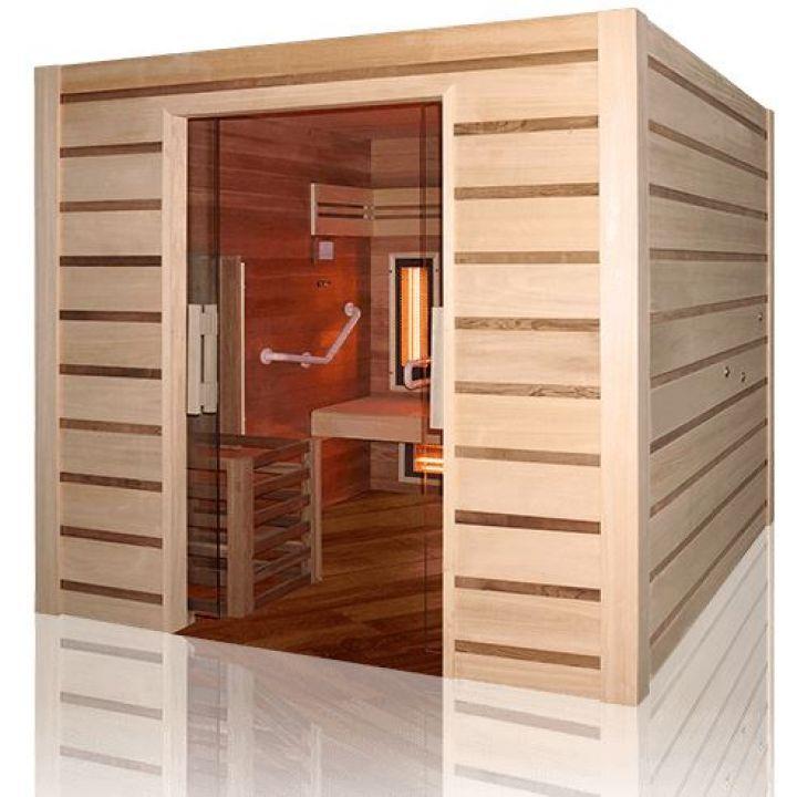 Sauna Combi Access : vapeur et infrarouge  - Holl's