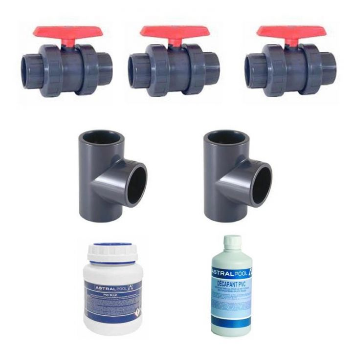 KIT BY PASS diam 50 mm