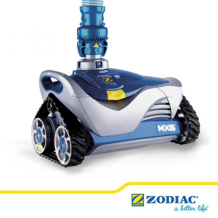 Robot piscine hydraulique MX6 Zodiac  - ZODIAC