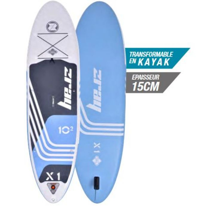 Paddle gonflable Zray X-Rider 10'2'' - Distripool