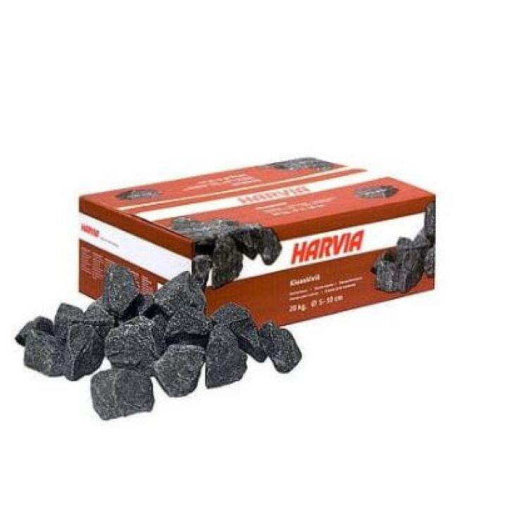 Pack 20 KG de pierre pour poêle sauna Ø 5-10 cm