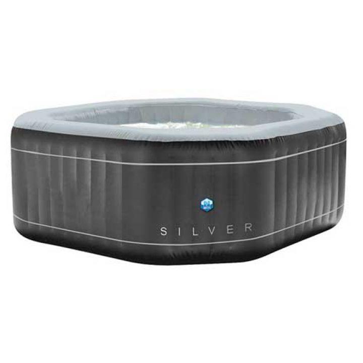 Spa gonflable Silver 5 à 6 places (Pré-commande Février 2021) - NETSPA