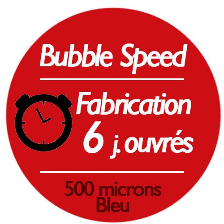 Bâche à bulle standard 500µ bleu / bleu - EXPRESS