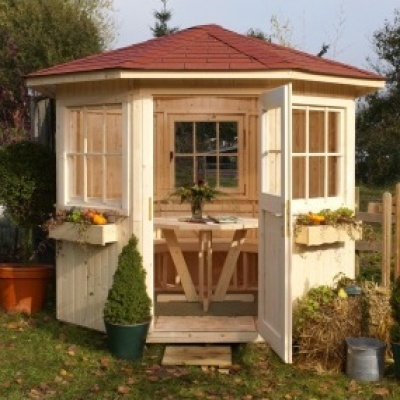 Pavillon en bois