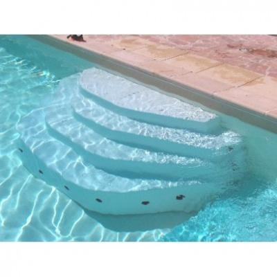accès piscine : échelle, escalier