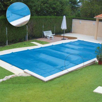 Bâche à barres piscine
