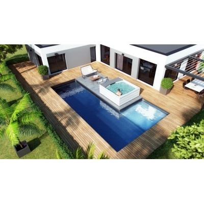 piscine en kit polystyrène