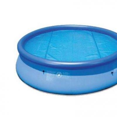Bâche à bulle piscine hors sol