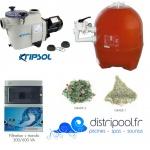 Kit filtration piscine PRESTIGE