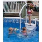 Escalier piscine hors sol AQUARIUS PVC - 5010