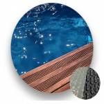 Bâche à bulle GEOBUBBLE piscine bois UBBINK