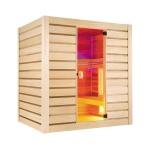 Sauna Hybrid Combi : vapeur + infrarouge - Holl's