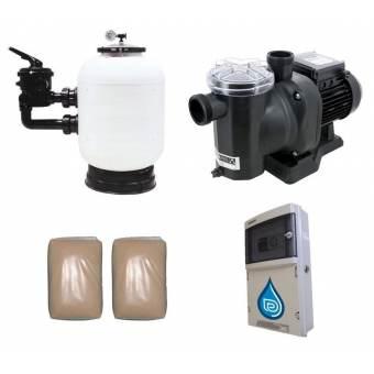 Kit filtration piscine PREMIUM évolution 2