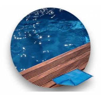 Bâche à bulle piscine bois Nortland - Ubbink