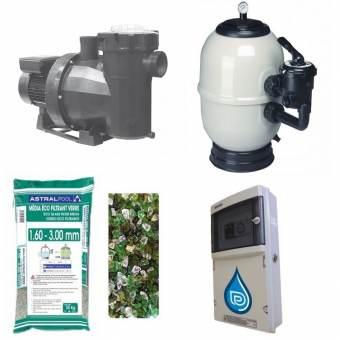 Kit filtration piscine Prestige Astral