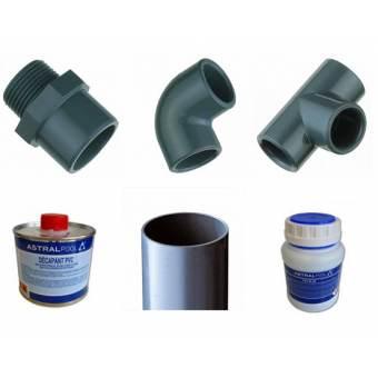 Kit plomberie pour filtre BIO FILTRE