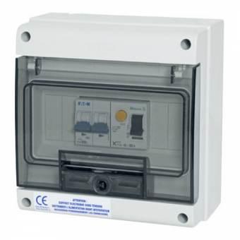 Coffret électrique pour pompe à chaleur piscine