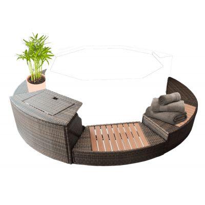 Liste mobilier pour spa mspa