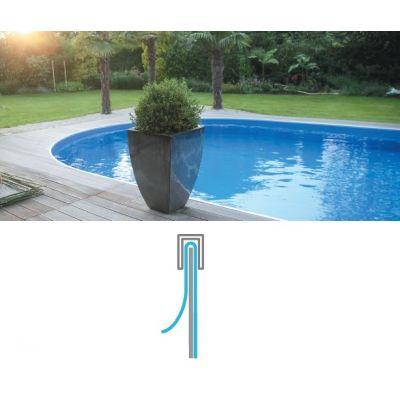 Liner pour piscine hors sol acier - Overlap