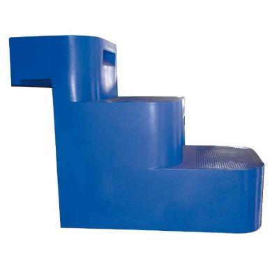 Escalier piscine large gamme acrylique ou poser dans for Articulation echelle piscine