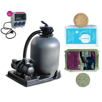 Kit filtration piscine hors sol Complet