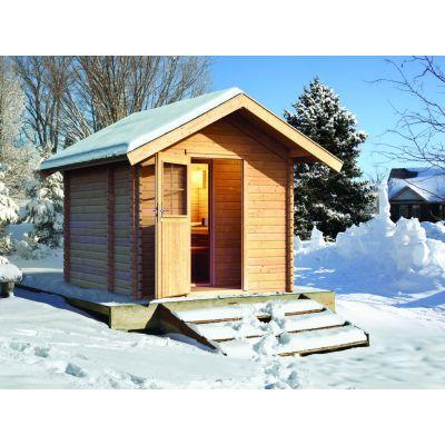 Sauna Extérieur 38 Mm CHALET 2   Karibu