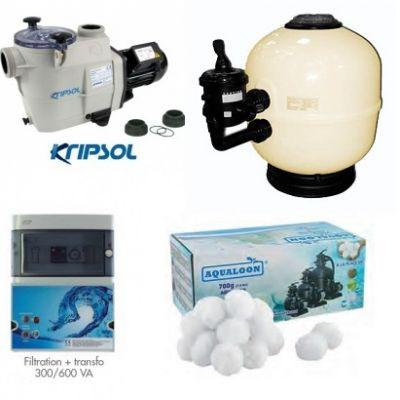 Kit filtration piscine LUXE