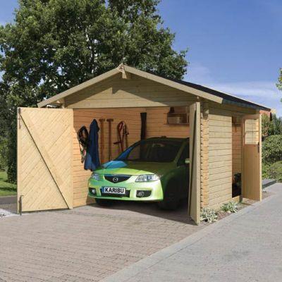 abris voiture en bois distripool. Black Bedroom Furniture Sets. Home Design Ideas