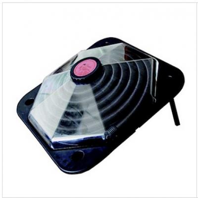 Chauffage piscine solaire pour votre piscine hors sol for Chauffage solaire piscine dome